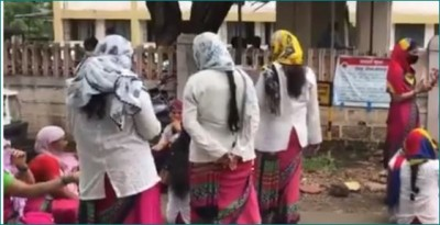 65 thousand ASHA workers on strike in Maharashtra demanding increase in wages