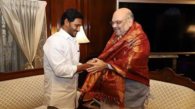 Andhra CM Jaganmohan Reddy meets Home Minister Amit Shah, discusses a number of issues