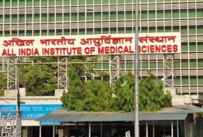 Fast declining corona cases in Delhi, OPD services to start in AIIMS from June 18