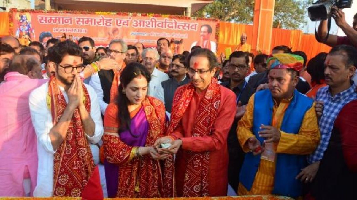 Uddhav Thackeray will arrive in Ayodhya with 18 MPs