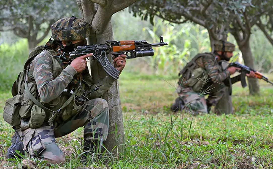 2 militants killed, 2 injured including Major in encounter in Anantnag