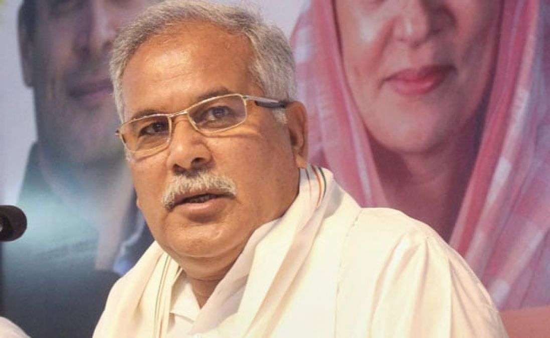 Man released in sedition case writes letter to CM Baghel, serious allegations against BJP