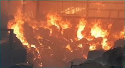 Maharashtra: Massive blast at Palghar cracker factory, fire in near area
