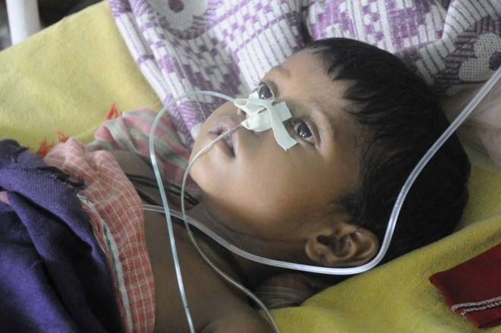 The figure of deaths of children increases continuously due to Encephalitis