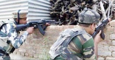 Hizbul's terrorist killed in Avantipora encounter, operation of security forces continues