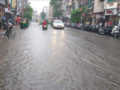 Bhopal received 8.4 cm of rain in 6 hours