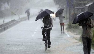 Weather turns pleasant after rain in many parts of the capital.