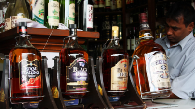 India's people growing love toward whiskey, sales break last four-year record