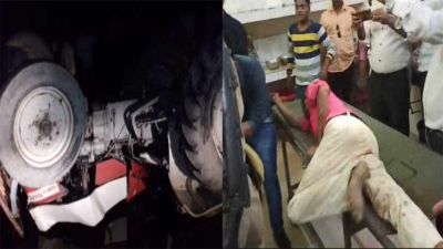 Painful road accident in Sitapur, 8 killed, 22 injured