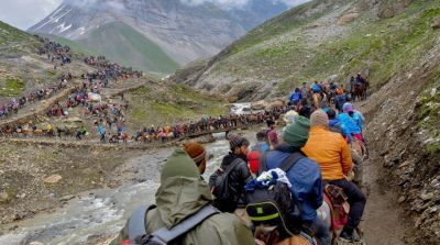 Amarnath shrine board issued helpline number for pilgrims