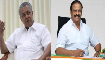 CM Vijayan's allegation said, 'Kerala Congress Chief Sudhakaran had hatched a conspiracy to kidnap my children'