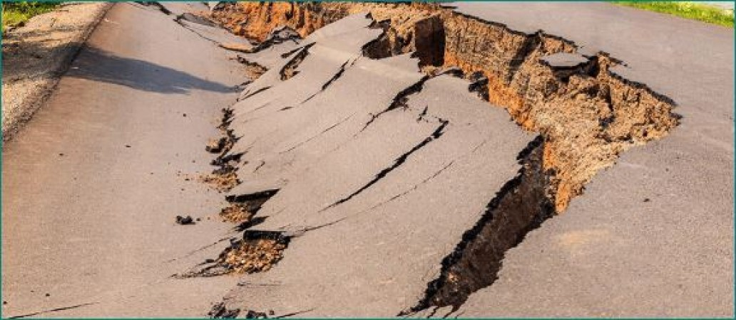 नॉर्थ ईस्ट में 1 घंटे के अंदर दो जगह आया तेज भूकंप