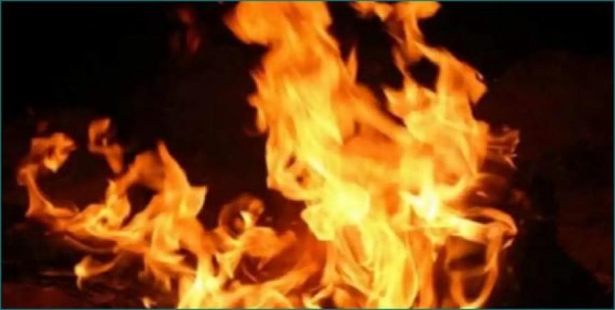 रसोई गैस सिलेंडर में रिसाव के बाद हुआ धमाका, झुलसे 13 लोग