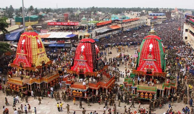 कोरोना संकट के बीच जारी है भगवान जगन्नाथ के रथों का निर्माण, 24 जून को होगी लोकप्रिय रथ यात्रा