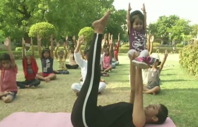 Nagpur:The video of  World's Smallest Woman doing Yoga goes viral