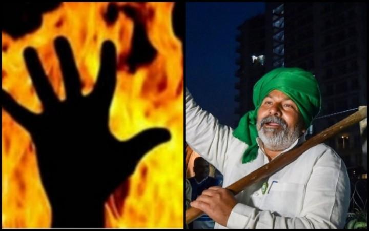किसान आंदोलन: 'मेरे पापा को क्यों जला दिया...', पंचायत के सामने छलका 'मुकेश' के 9 वर्षीय बेटे का दर्द