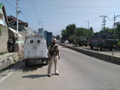 A terrorist shot dead by security forces in Srinagar encounter, operation continues