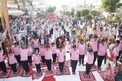 Large Yoga Camps with 751 Persons with Disabilities on 5th International Yoga Day