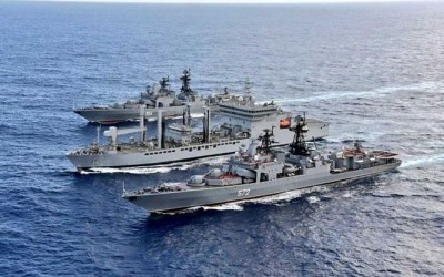 IAF and Navy conduct exercise in Indian Ocean with US Navy