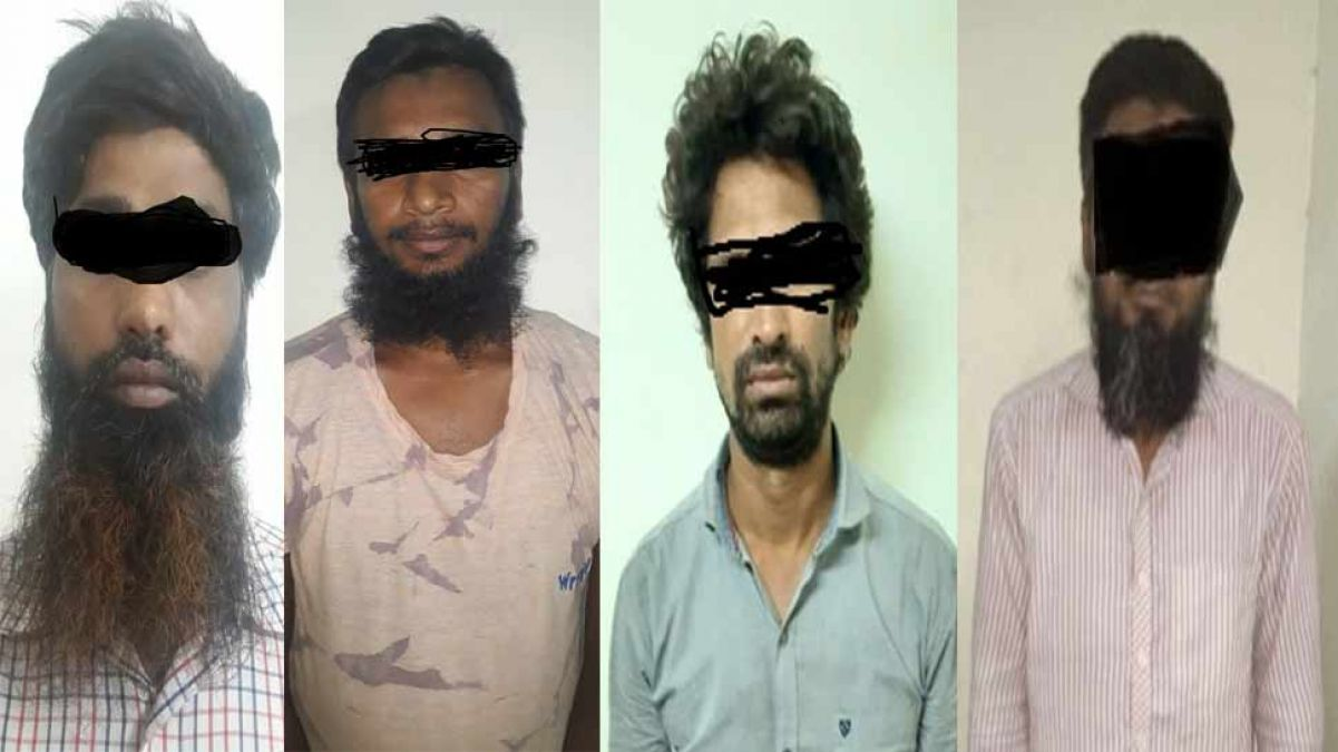4 ISIS militants arrested from West Bengal, were collecting fund for the terror group