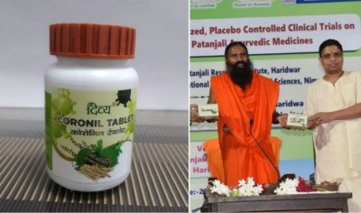 Maharashtra government put ban on sale of coronil
