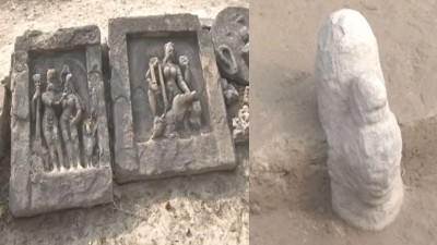 4000 year old Shivling found in Varanasi, people gathered to see