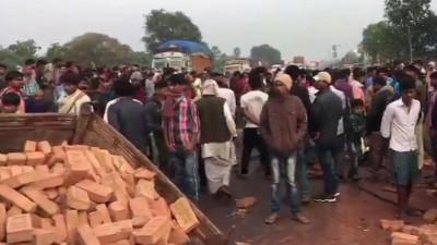Tragic accident: Scorpio and tractor collision in Bihar, 11 died