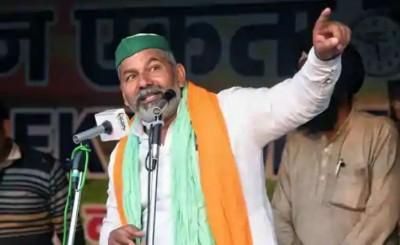 Farmers' Movement: Warning of farmers of Madhya Pradesh- Beware, if Tikait is arrested ...
