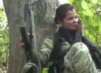 Hats Off! This pregnant lady fights against Naxals in Dantewada