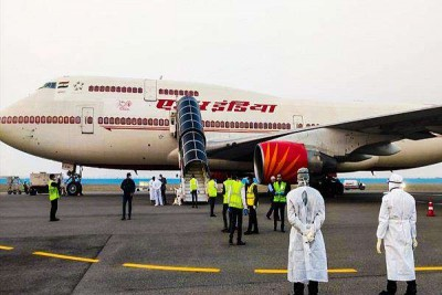 Air India aircraft to leave today to bring Indians stranded in Italy due to Corona crisis