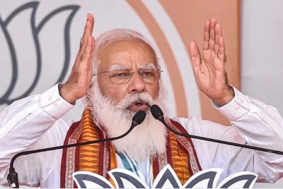 PM Modi speaks at BJP MPs meeting: 'Long term benefit' from agricultural laws..'
