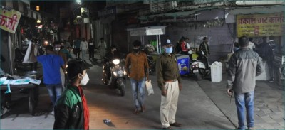 Now, all shops will be closed at 9 pm in Indore, ban in religious places too