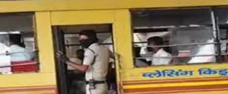MP: स्कूल बस में छुपकर निकली बारात लेकिन पहुंच गई पुलिस थाने, जानिए क्या है मामला