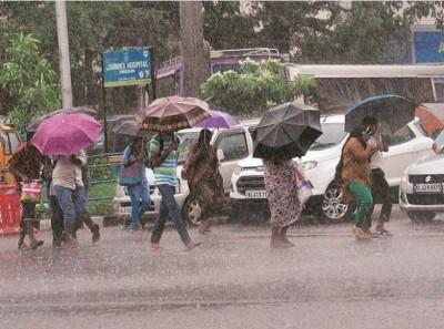 Heavy rain expected in Delhi-UP, MET department issues alert