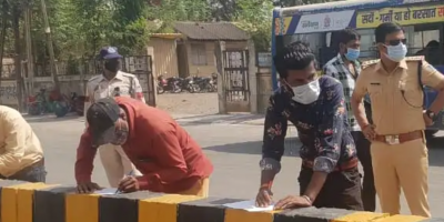 Indore: Police to give unique punishment to unnecessarily roaming people