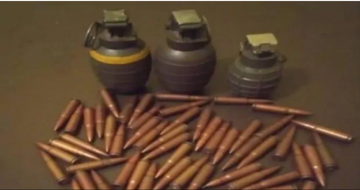 Jammu Kashmir Police recover 3 live grenades and 54 cartridges