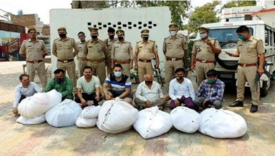 UP: Police arrested a gang stealing shrouds of corona infected dead bodies