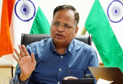 Health minister Satyendra Jain says, 'Capital is witnessing sharp decline in positivity rate'