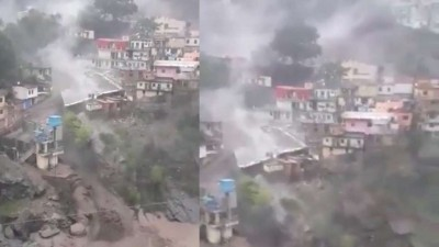 Cloudburst in Uttarakhand wreaks havoc, no loss of life and property