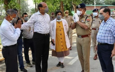 Sharda hospital won't have oxygen, 21,000 litre plant started