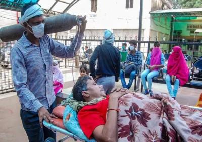 India Corona updates: New corona cases fall marginally, but death toll still 4000