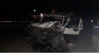 High-speed Scorpio collided with truck, 3 people died