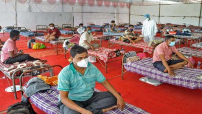 Hospital closed for 20 years, BJP-RSS workers made 800 bedded hospital, will function from 19 May
