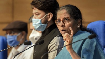 Congress should talk to its state governments instead of talking to labours on road: Nirmala Sitharaman