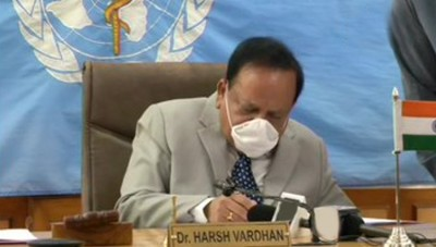 Dr. Harsh Vardhan takes charge as WHO Executive Board chairman