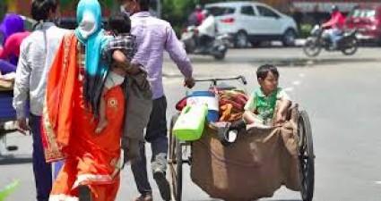 Telangana: 1.22 lakh migrant laborers return home