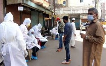 Increase in corona cases in Jahangirabad and Bhopal, 68% found without mask in Mangalwara
