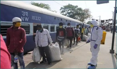 Big relief to laborers with special trains, more than 4 million workers reached their homes