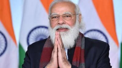 PM Modi expresses gratitude to frontline worker on Buddha Purnima