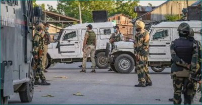 Terror attack in Jammu and Kashmir fails